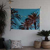 [조명포함] 그리너리 가리개 커튼 / 패브릭 포스터 (XL)
