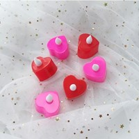 Heart Candle Lamp (5 set)