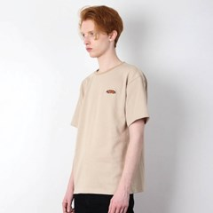PEPPER LOGO T-SHIRT[BEIGE]