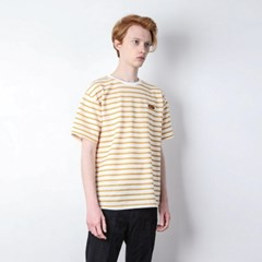 PEPPER STRIPE T-SHIRT[YELLOW]