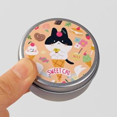 Circle Sticker Tin-14 Anchovy