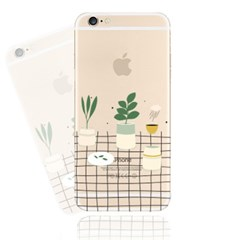 Table on the Plants (JF-002A) Jelly Case