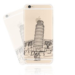Pisa Sketchy (JE-001A) Jelly Case