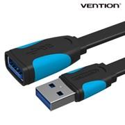벤션 투톤 플랫 USB 3.0 연장케이블 연장선/5Gbps
