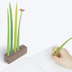 선물용 POOLEAF X BEAULEAF 풀잎펜 꽃잎펜 우드세트