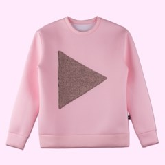 PLAY crew neck_pink(17PLAYT-A04pk)