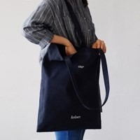 Market Bag LS-Navy