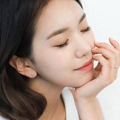 14K/18K 미니 벚꽃 귀걸이