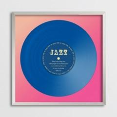 LP 메탈 액자 - jazz