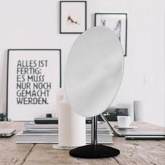 [트리빔하우스] 301C 타원 탁상거울