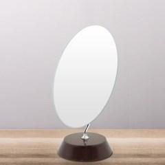 [트리빔하우스] 슬림 타원형 탁상 거울