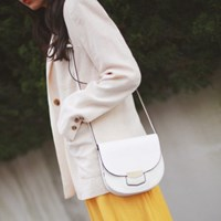 Simple basic linen jacket