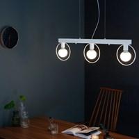 [바이빔][LED] 네스트 3등 펜던트-블랙or그레이