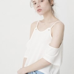 Off The Shoulder Blouse (WHITE)