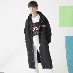 Reflect Rain Coat (BLACK)