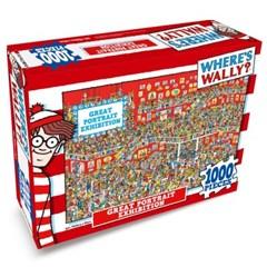 월리를 찾아라 직소 퍼즐 1000pcs 초상화 전시회