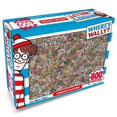 월리를 찾아라 직소 퍼즐 800pcs 먹는걸 멈출수가 없어