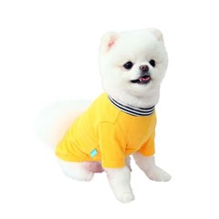 Dog personality t-shirt _yellow