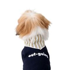 Dog personality t-shirt _navy