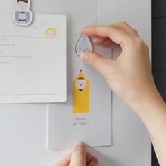 Baby magnet+checklist set_Hello