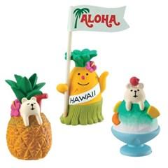 데꼴 2017 여름 Hawaii 피규어 알로하 파인애플