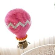 [코바늘 DIY] 핑크 열기구 모빌
