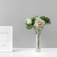 양배추 꽃 조화