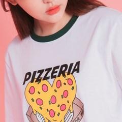 냠냠 맛있는 피자 half T