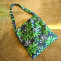알로하백 Aloha bag - Palm blue