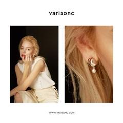 V Drop earrings