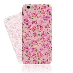 Pink BG Pink Rose (HF-141A) Hard Case