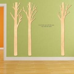 우드스티커- 가시나무 (반제품) W505 포인트 월데코