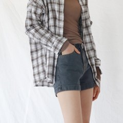 Casual cool check shirt
