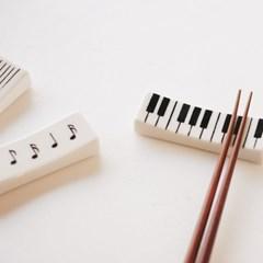 음악 수저받침
