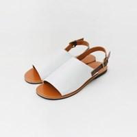 Flat simple sandals