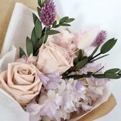 프리저브드 러블리 꽃다발 (시들지않는꽃)