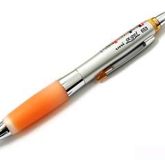 유니볼 알파겔 샤카쉐이커 샤프 0.5mm - 오렌지 그립