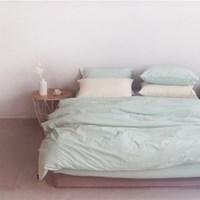 에스타도 천연염색 호텔베딩(80수) - 민트 (더블/퀸)
