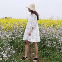 Luna straw floppy hat