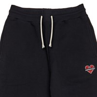 NOMANTIC BASIC LOGO SWEAT PANTS BLACK