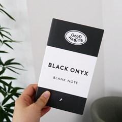 굿해빗 - 굿해빗 블랭크 노트 (블랙 오닉스)