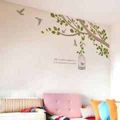 우드스티커- 봄봄 (컬러완제) 나뭇가지 W494