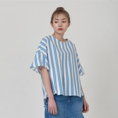 STRIPE TOP_BLUE