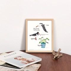 인테리어액자 3 Birds