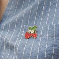 strawberry 뱃지