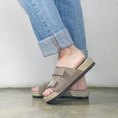 kami et muse Double belted soft slippers_KM17s181