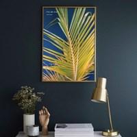 PALMLEAF BLUE 팜리프블루 보타니컬 인테리어 포스터,액자