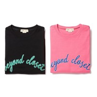 NEW BASIC LOGO 1/2 SWEAT SHIRT DEEP PINK