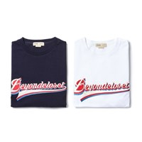 21C BASIC BIG LOGO 1/2 T-SHIRT NAVY
