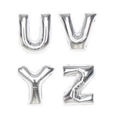 알파벳 은박풍선 (중) [O~Z]